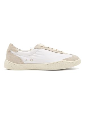 Acne Studios Lhara low-top canvas trainers