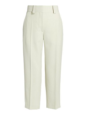 Acne Studios light summer cropped trousers