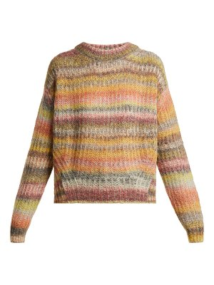 Acne Studios Loose-fit striped round-neck sweater