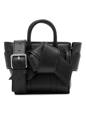 Acne Studios x mulberry micro bayswater musubi leather tote