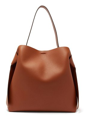 Acne Studios musubi large leather tote bag
