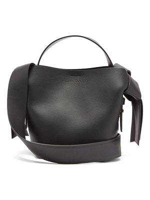 Acne Studios musubi mini leather cross-body bag