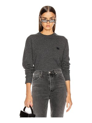 Acne Studios nalon face sweatshirt