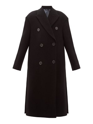 Acne Studios octania oversized double breasted wool blend coat