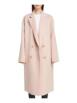 Acne Studios odethe double breasted wool & cashmere coat