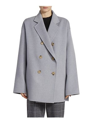 Acne Studios odine double-breasted wool & cashmere peacoat
