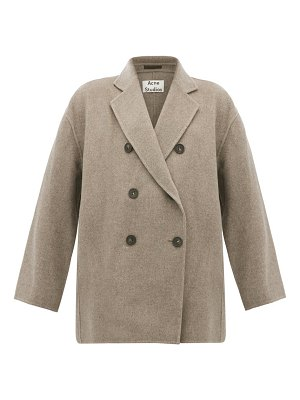 Acne Studios odine double-breasted wool peacoat