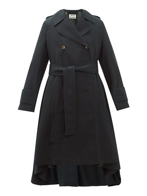Acne Studios olwen double breasted trench coat
