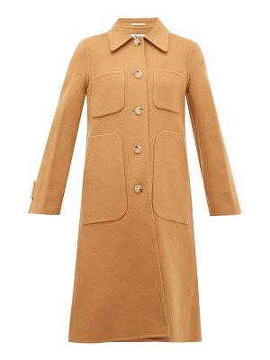 Acne Studios orein single breasted double faced wool coat