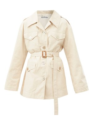Acne Studios otilina cotton-blend canvas jacket