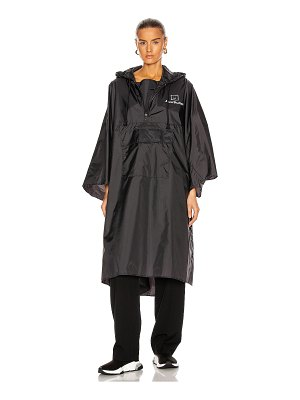Acne Studios outpost face poncho