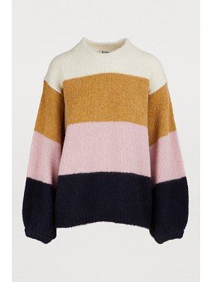 Acne Studios Oversized colorblock sweater