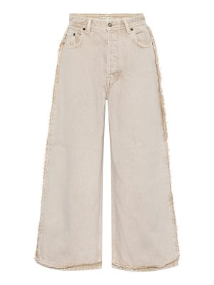 Acne Studios high-rise wide-leg jeans