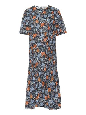 Acne Studios Printed crêpe midi dress