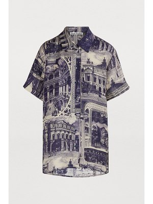 Acne Studios Printed polo shirt