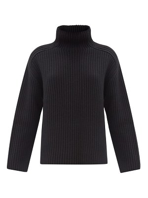 Acne Studios roll-neck ribbed-wool sweater