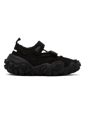 Acne Studios ssense exclusive  suede and mesh sneakers