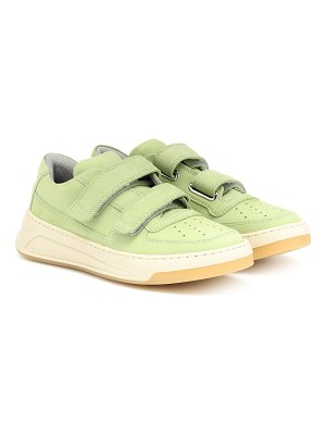 Acne Studios steffey nubuck leather sneakers