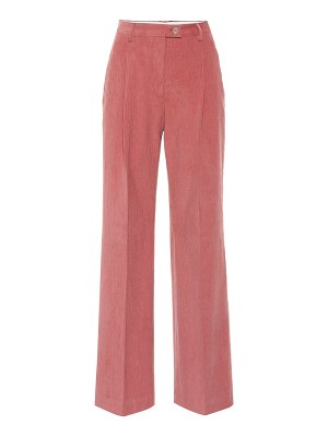 Acne Studios stretch-cotton flared pants