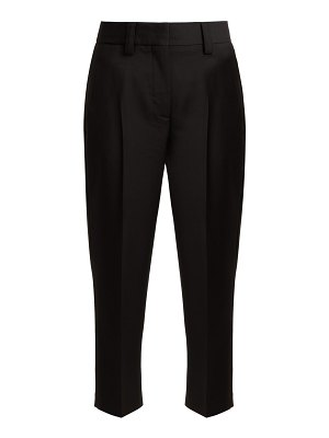 Acne Studios Wool and mohair-blend trousers