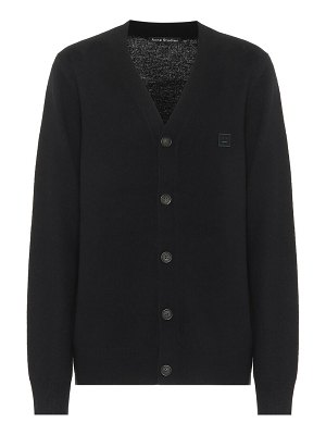 Acne Studios cropped wool cardigan