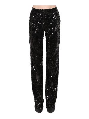 ACT N°1 Sequin embellished straight leg pants