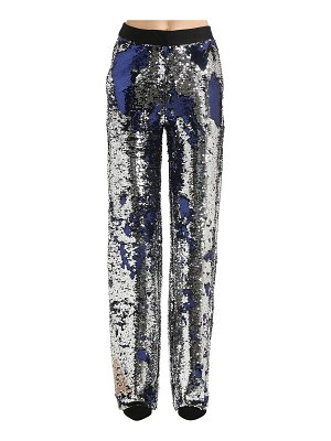 ACT N°1 Sequined wide leg pants