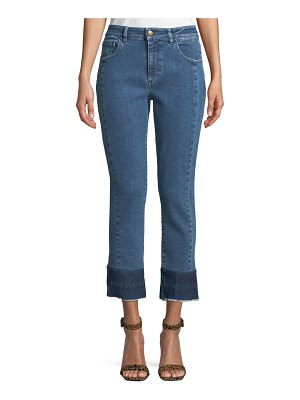 Acynetic Tiana Cropped Raw-Hem Jeans