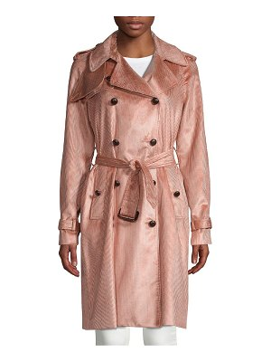 Adam Lippes Belted Trench Coat