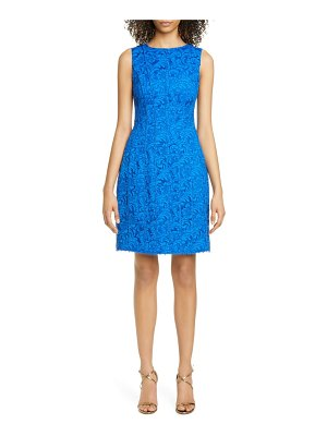 Adam Lippes corded lace flare dress