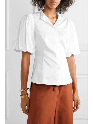 Adam Lippes cotton-poplin shirt