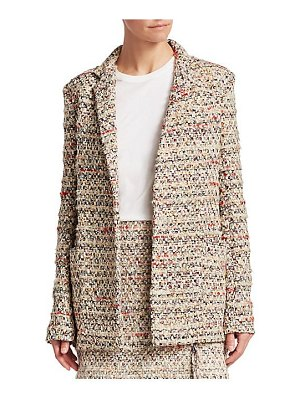 Adam Lippes cotton tweed jacket