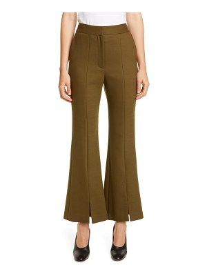 Adam Lippes double face bell crop pants