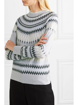 Adam Lippes fair isle knitted sweater