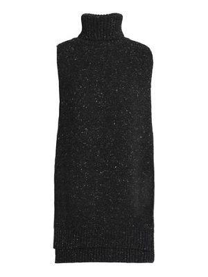 Adam Lippes speckled knitted wool and cashmere
