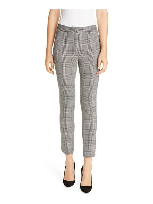Adam Lippes plaid double face cigarette pants