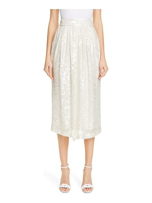 Adam Lippes sequin skirt