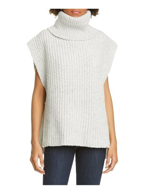 Adam Lippes side tab wool & cashmere sweater