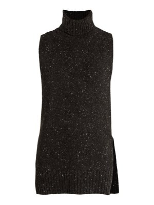 Adam Lippes Sleeveless wool and cashmere-blend sweater