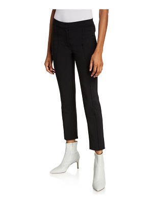 Adam Lippes Stretch Cady Cigarette Pants