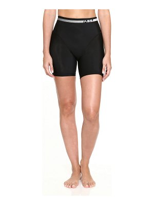 Adam Selman Sport French-Cut Biker Shorts