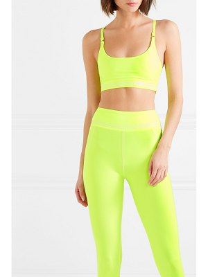 Adam Selman Sport neon stretch sports bra