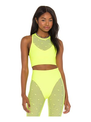 Adam Selman Sport racer crop top