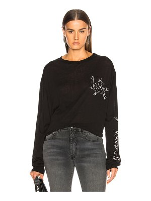 Adaptation Cashmere Long Sleeve Tee