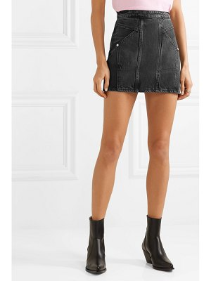 Adaptation denim mini skirt