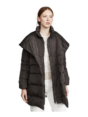 Add Down hooded down coat