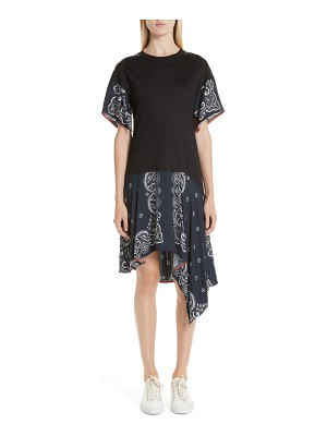 Adeam handkerchief t-shirt dress