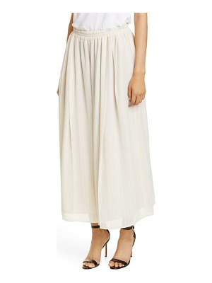 Adeam stripe chiffon parachute wide leg pants