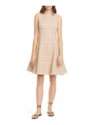 Adeam tweed a-line dress