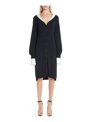 Adeam two-way cardigan dress